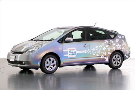 Neues Toyota Prius Plug In Hybrid Modell